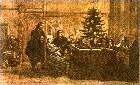 Régi karácsonyi képeslap.