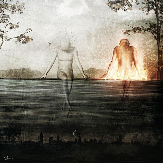 A természet és az ember; dualitás.