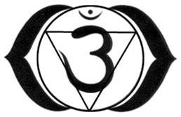 A harmadikszem csakra szimbóluma.