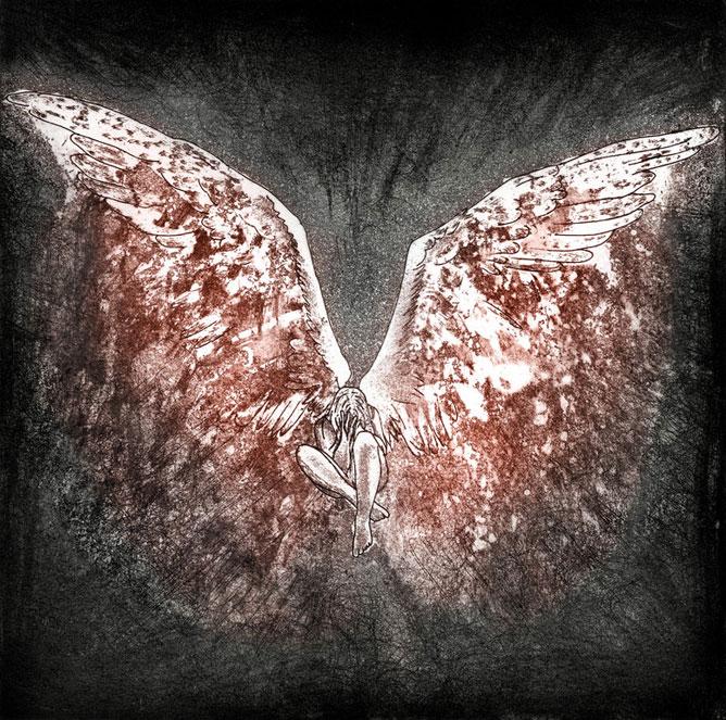 Szomorú angyal