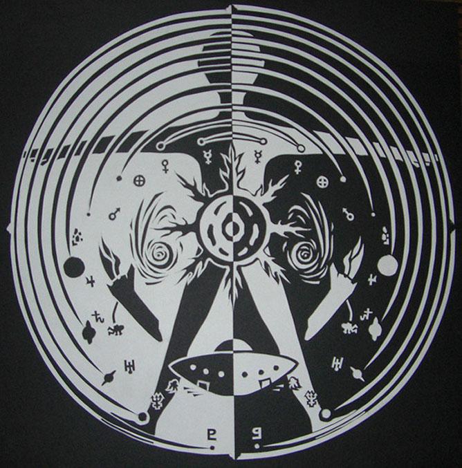 Mandala art.