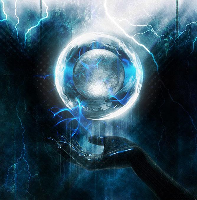 Energia gömb.