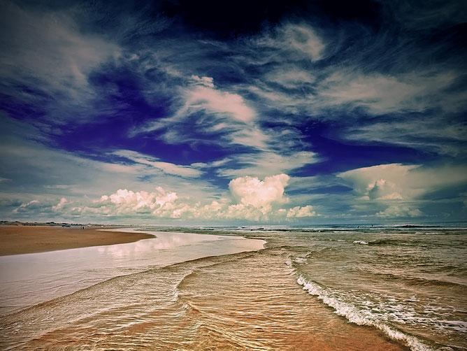 Gyönyörű tenger.