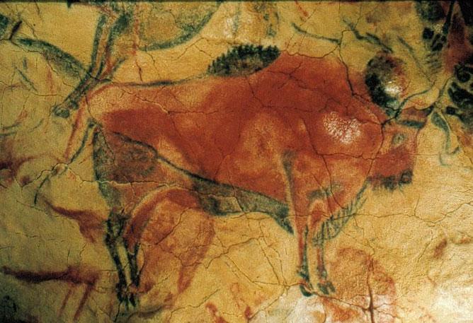Altamirai barlangfestmény.
