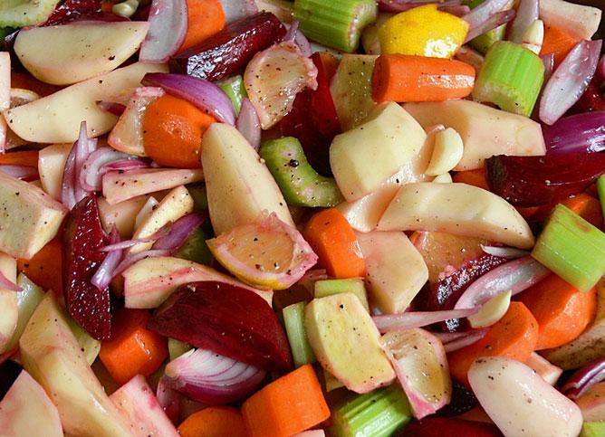 Zöldségek.