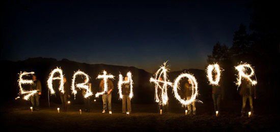a Föld Órája -mozgalom.