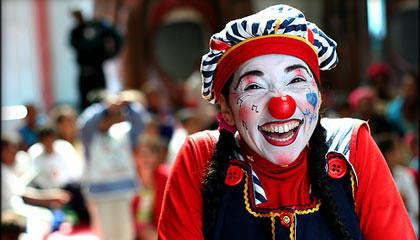 Cirkuszi bohóc.