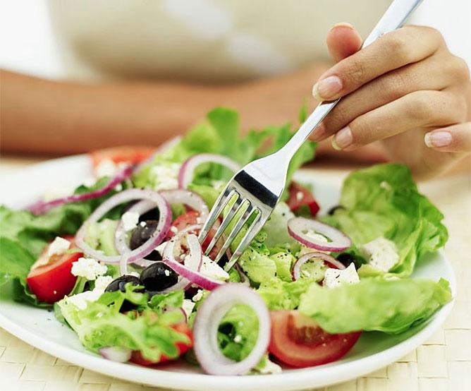 Egészséges étel.