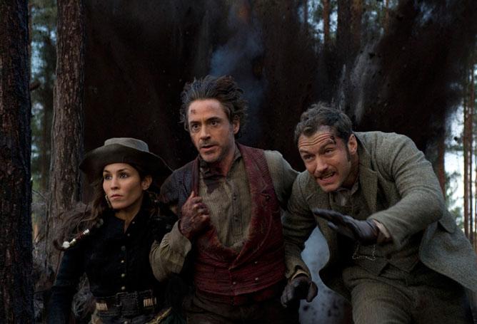 Sherlock Holmes: Árnyjáték - Robert Downey Jr., Jude Law, Noomi Rapace
