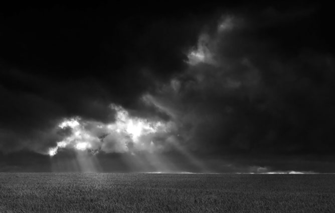 Black and white dreams.