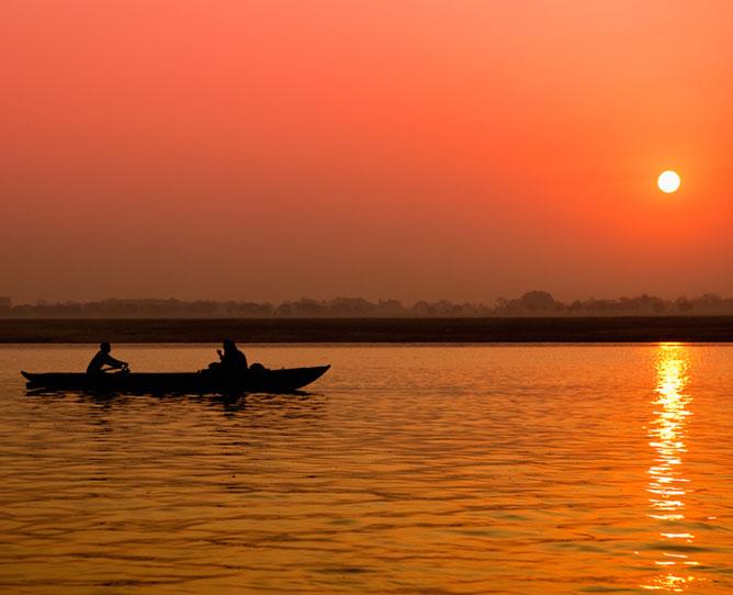 Orange Ganges.