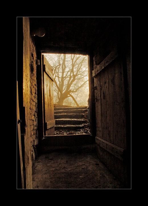 Open door.