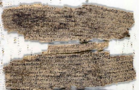A buddhizmus legkorábbi kéziratai.