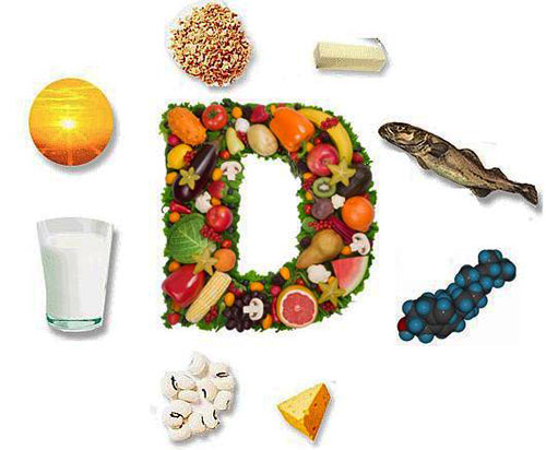 D vitamin forrás.