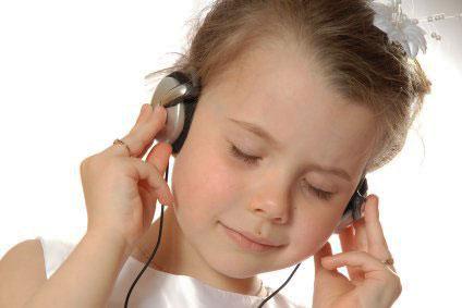 Zenehallgatás tanulása.