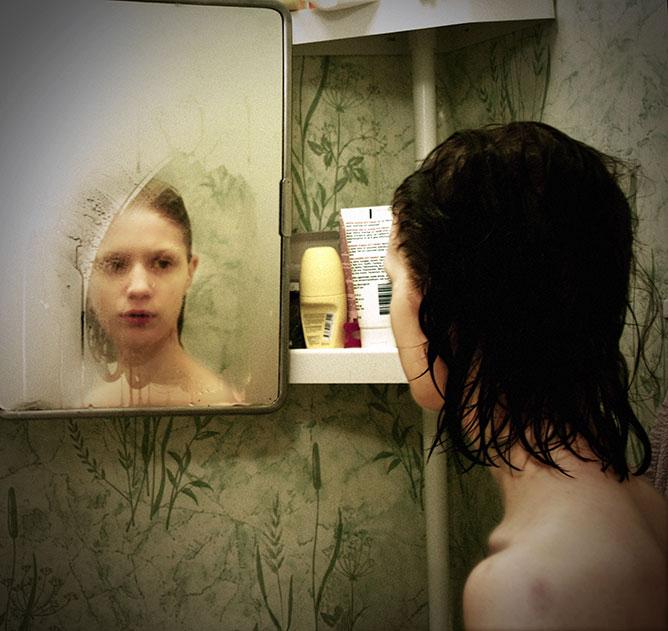 tükör.