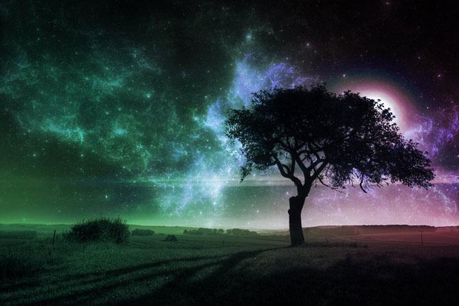csillagfények.