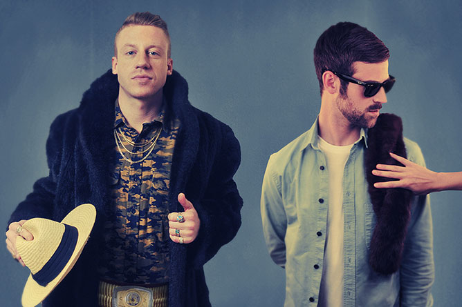 Macklemore & Ryan Lewis.