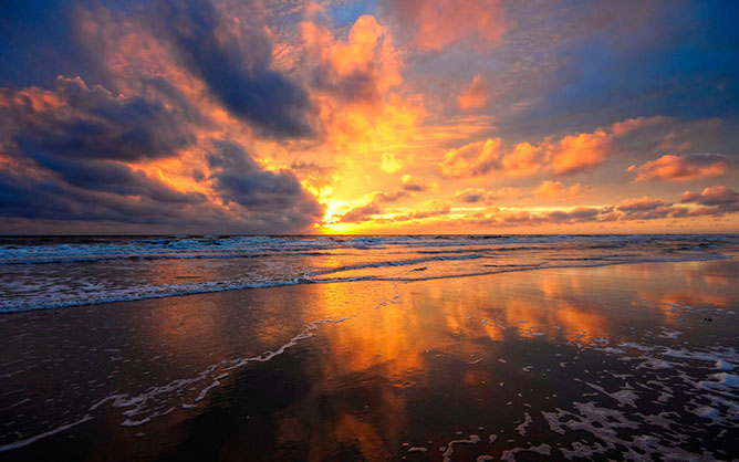 Beauty sunrise.