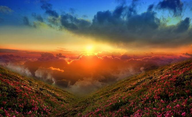 Beautiful sunris.