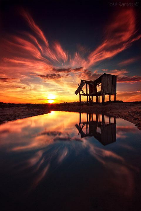 Nice sunrise.