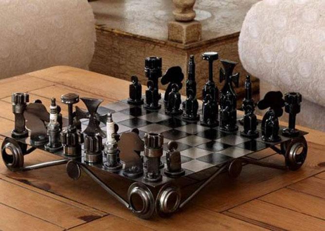 Sakktábla.