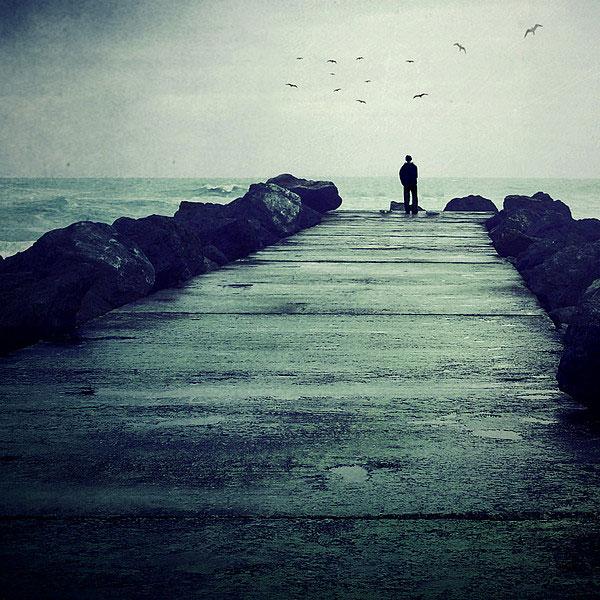 Csend és egyedüllét.
