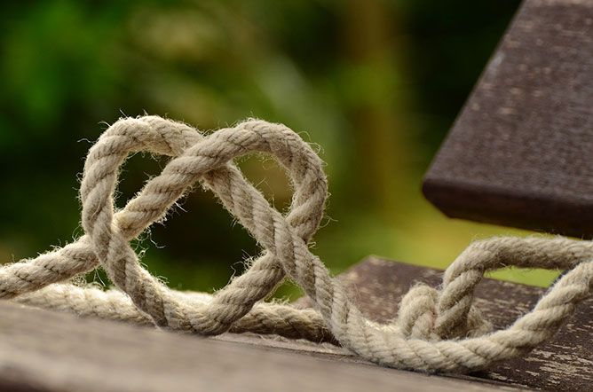 heart rope.