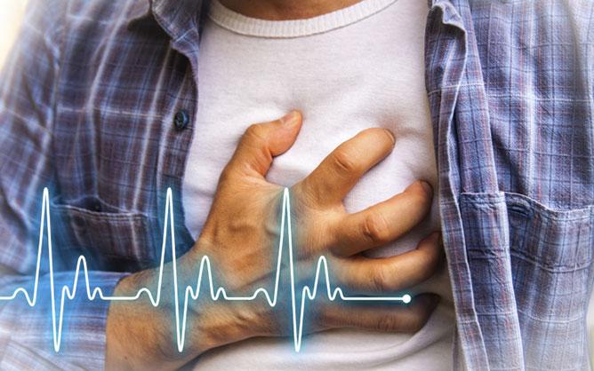 Szívroham- kockázat.