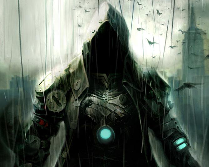 A sötét oldal harcosa.