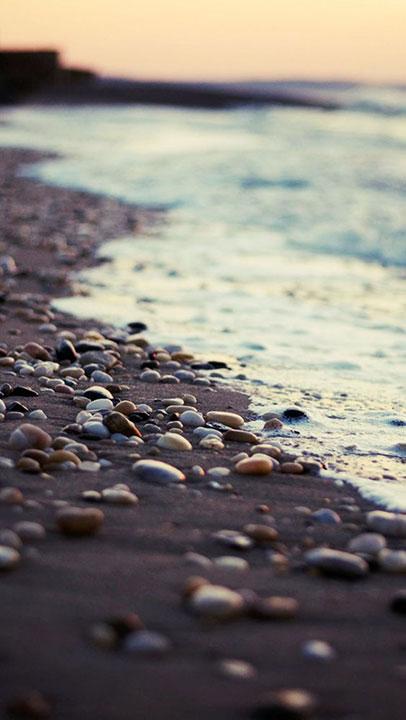 tenger és partja.